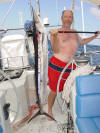 Marquesas Passage - Mike's big spearfish - 104K